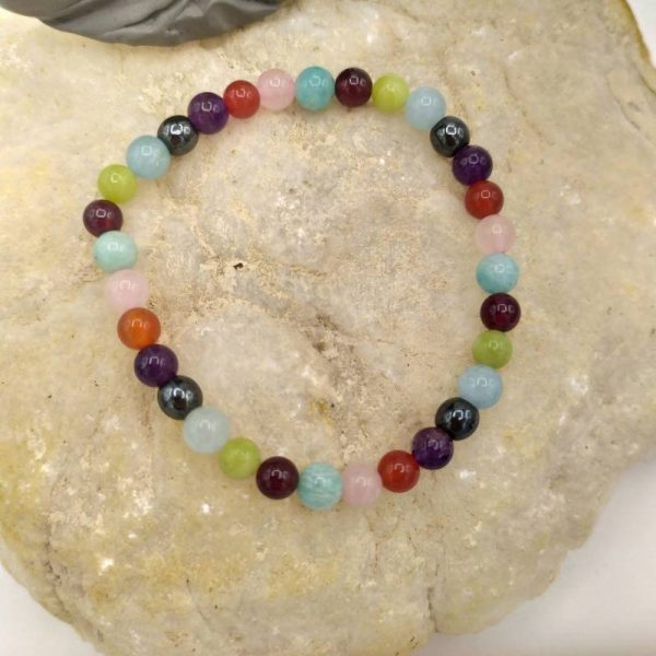 Bracelet Chemin de Vie 6mm Perles naturelles